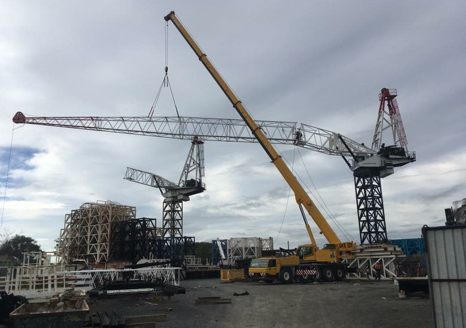 Tower Crane Lifts
